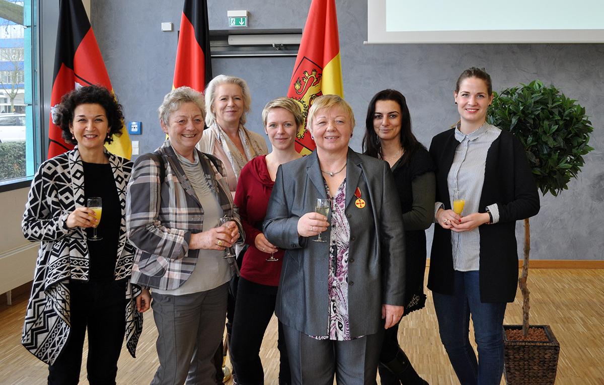 Orden für Annita Niclaus, Vorstandsfrau von Ophelia Langenhagen, 2017