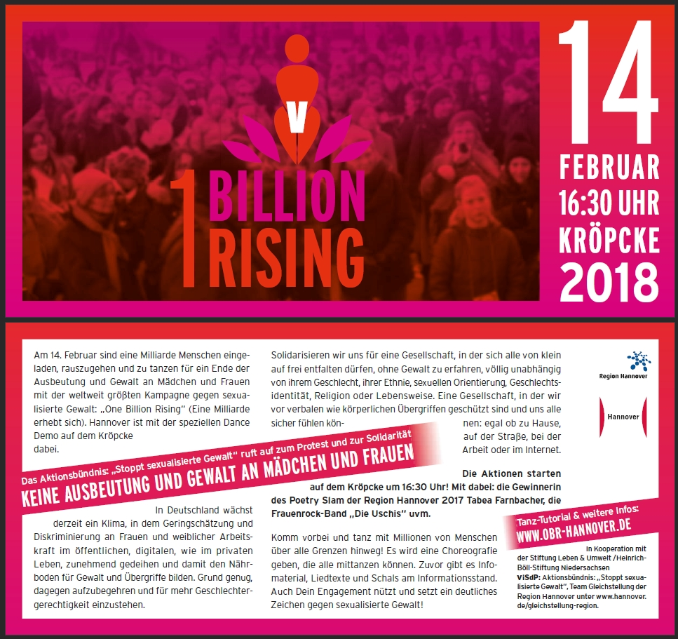 One Billion Rising 2018
